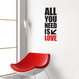 All you need Wall Decal Wall Decal