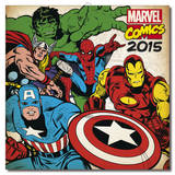 Marvel Classic 2015 Wall Calendar Calendars