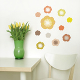 Little Garden Solstice Flowers Wall Decal Wall Decal