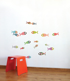 Small Fish Wall Decal Wall Decal