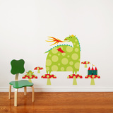 Country Dragon Wall Decal Wall Decal