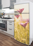Little Flowers Refrigerator Decal Wall Decal