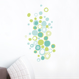 Turquoise Polka Dots Wall Decal Wall Decal