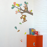 Monkey Business Wall Decal Wall Decal