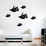 Bird Fish Wall Decal Wall Decal