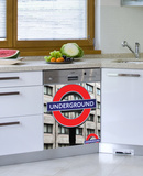 London Underground Dishwasher Decal Wall Decal