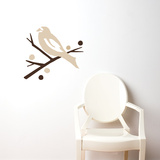 Grosbeak (brown) Wall Decal Wall Decal