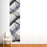 Tobaggan  Wall Decal Wall Decal