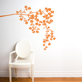Coastline Blossoms Wall Decal Wall Decal