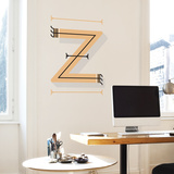 Z Letter Wall Decal Wall Decal