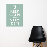 Stay Zen Wall Decal Wall Decal