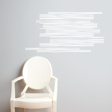 Wooden Slats Wall Decal Wall Decal