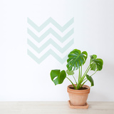 Minth Chevron Wall Decal Wall Decal