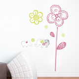 Sweet Elephants Wall Decal Wall Decal