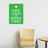 Smoke Weed Wall Decal Wall Decal