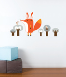 Paolo the Fox Wall Decal Wall Decal