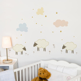 Little Sheeps Wall Decal Wall Decal
