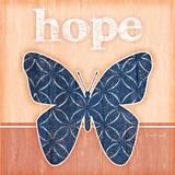 Hope Butterfly Posters by Jennifer Pugh