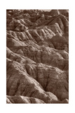 Badlands Light BW Photographic Print by Steve Gadomski