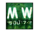 MW Green Photographic Print by Andrew Goetz