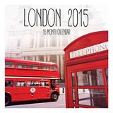 London 2015 Wall Calendar Calendars