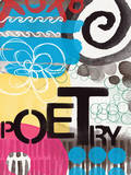 Abstract Poetry Posters by Linda Woods