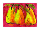Hot Pink Pear Art Photographic Print by Blenda Tyvoll