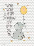 Twinkle Love Print by Jo Moulton