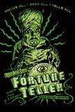 Fortune Teller Retro by Retro-A-Go-Go Poster Poster