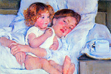 Mary Cassatt Breakfast in Bed Prints