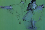 Edgar Degas Dancers at the Barre Prints