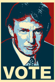 Donald Trump Vote Art Prints