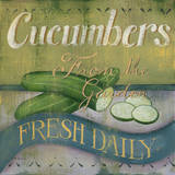 Cucumber Posters by Kim Lewis