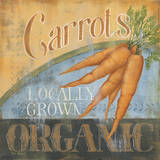 Carrots Posters by Kim Lewis