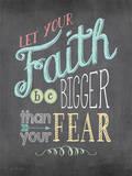 Faith Print by Jo Moulton
