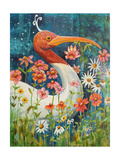 Garden Stork Photographic Print by Blenda Tyvoll