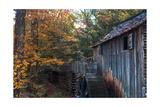 Cades Cove Mill Photographic Print by Steve Gadomski