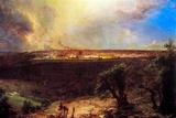 Frederick Edwin Church Jerusalem from the Mount of Olives Prints