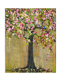 Tree of Life Lexicon Tree 4 Prints by Blenda Tyvoll