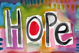 Hope Poster by Linda Woods