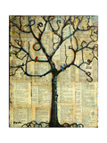 Print Tree of Life Mixed Media Painting Photographic Print by Blenda Tyvoll
