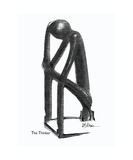 The Thinker No 12 Photographic Print by Diane Strain