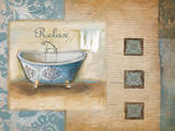 Relax Spa Bath Prints