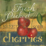 Cherries Prints by Kim Lewis