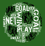 Soccer (Green) Posters by Jim Baldwin