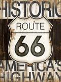 Route 66 Prints by Jennifer Pugh