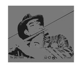 The JAZZ Flutist Photographic Print by Diane Strain