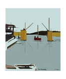The Drawbridge Number 11 Photographic Print by Diane Strain