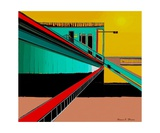 The Train Station Number 3 Photographic Print by Diane Strain