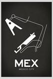 MEX Mexico City Airport Print